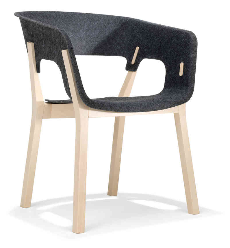 Designstuhl kusch co njord 3000 4 buerado for Design stuhl bequem