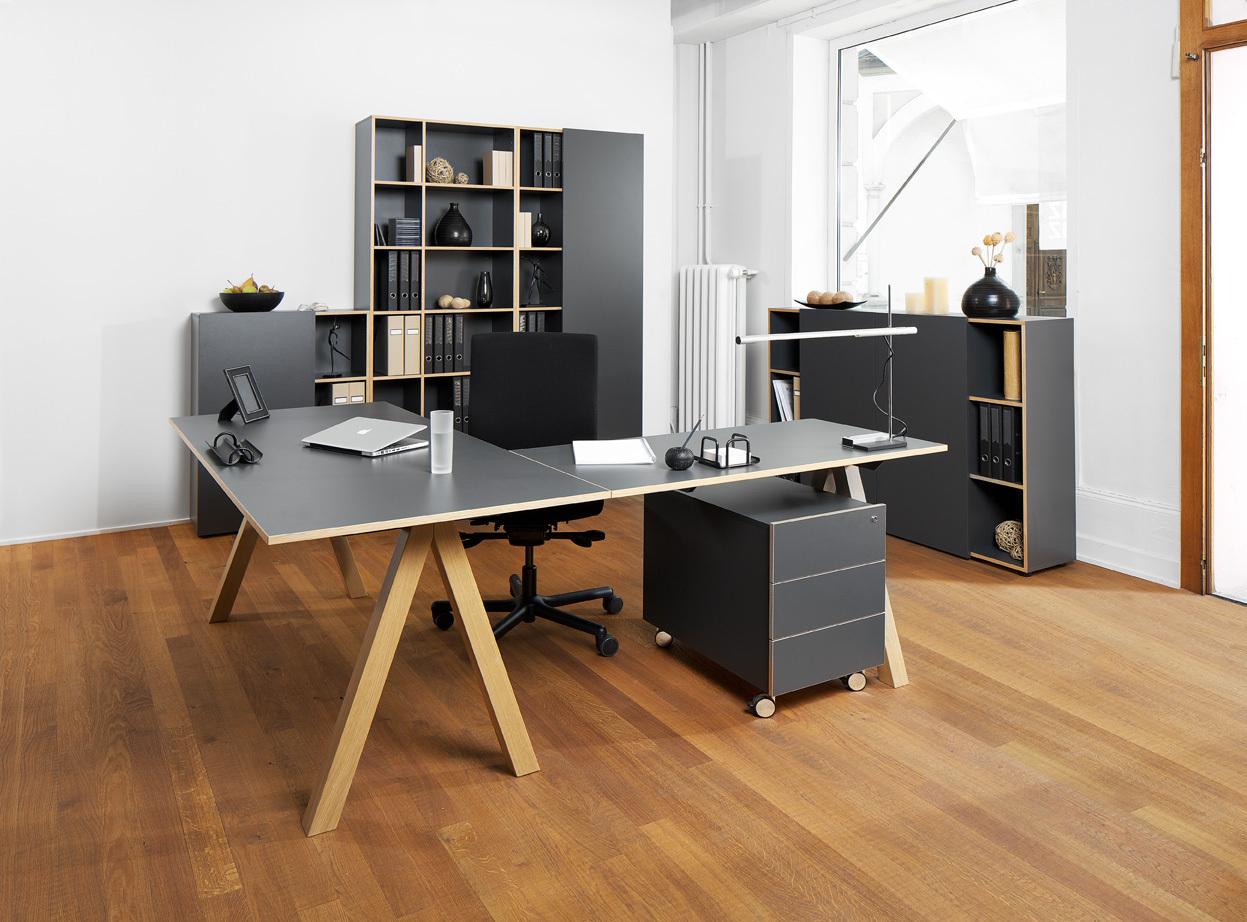 Schreibtisch oslo von reinhard zum bestpreis for Schreibtisch hoch