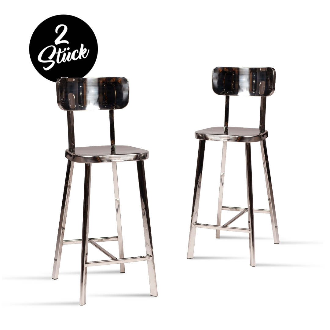barhocker carisma 2er set im dan form onlineshop buerado. Black Bedroom Furniture Sets. Home Design Ideas
