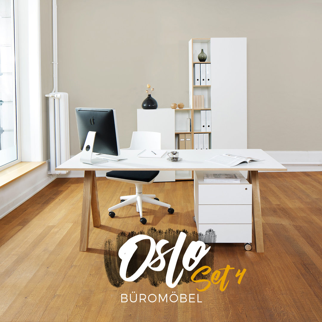 oslo b rom bel 4er set von reinhard sofort lieferbar. Black Bedroom Furniture Sets. Home Design Ideas