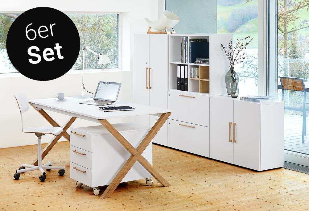 x legno 6er set b rom bel von reinhard zum bestpreis. Black Bedroom Furniture Sets. Home Design Ideas