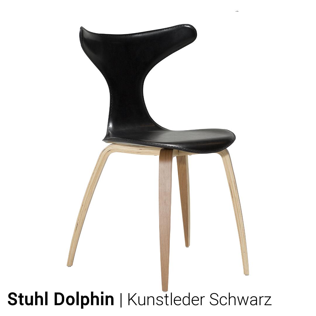 stuhl dolphin von dan form 4er set. Black Bedroom Furniture Sets. Home Design Ideas