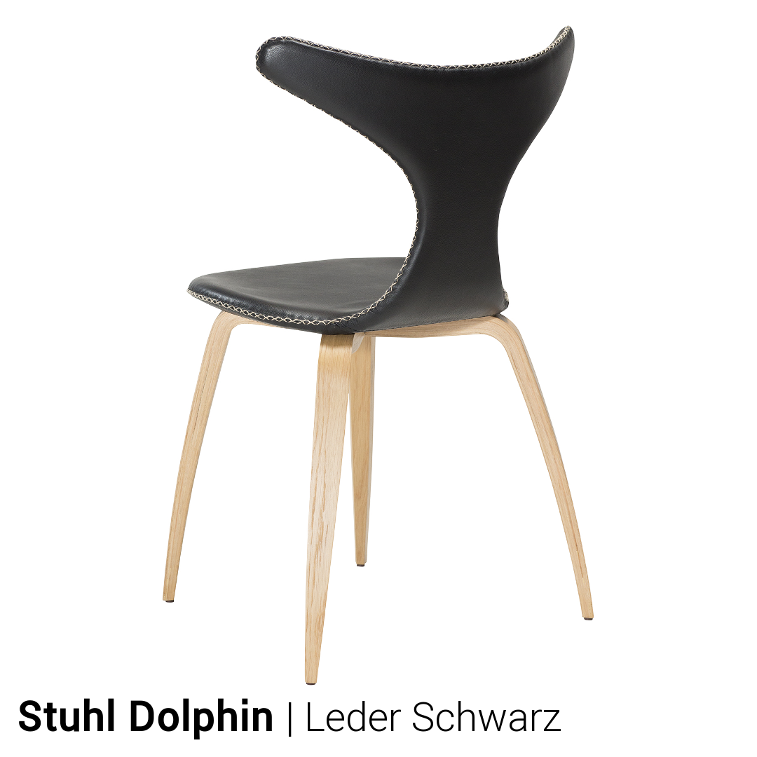 stuhl dolphin von dan form 4er set. Black Bedroom Furniture Sets. Home Design Ideas