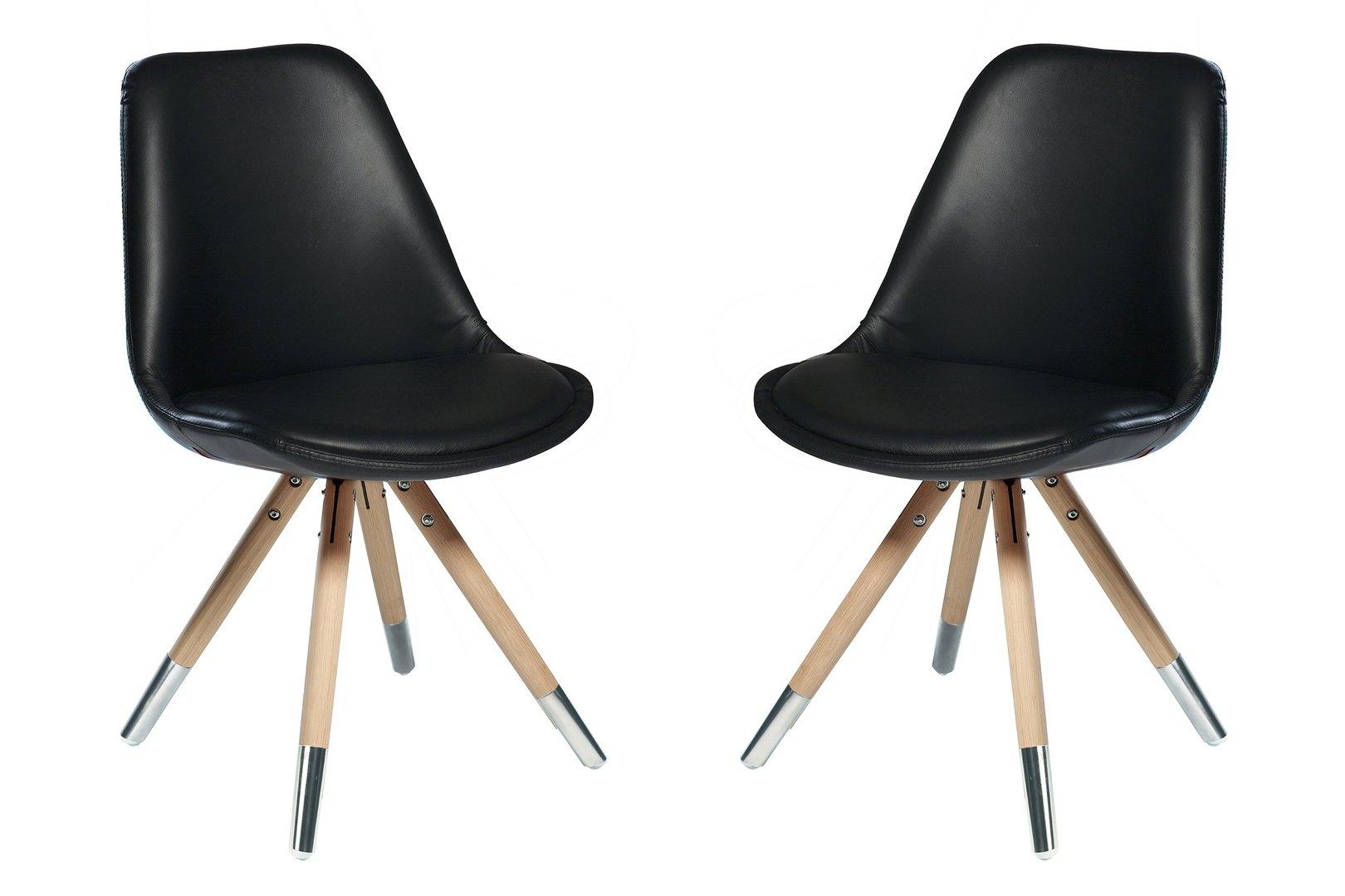 Stuhl orso 4er set edelstahl von dan form for Stuhl edelstahl