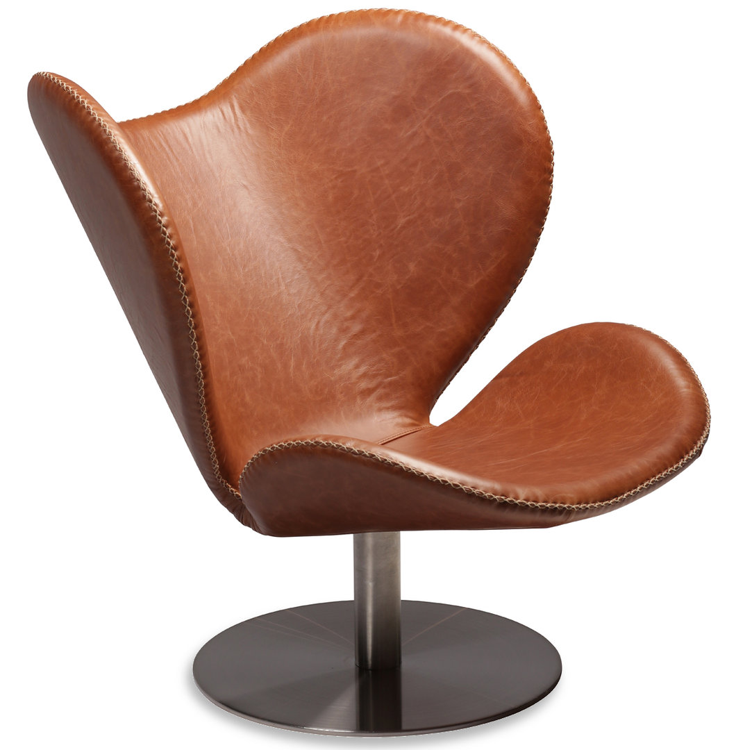 Liebenswert Lounge Sessel Leder Dekoration Von Dan Form - Loungesessel Butterfly