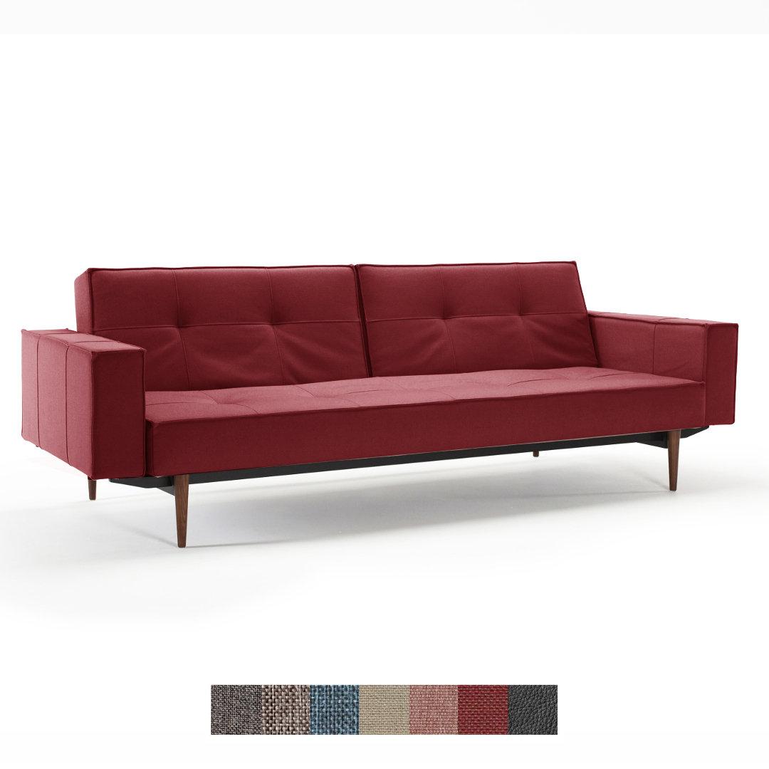 sofa splitback mit armlehnen von innovation living buerado. Black Bedroom Furniture Sets. Home Design Ideas