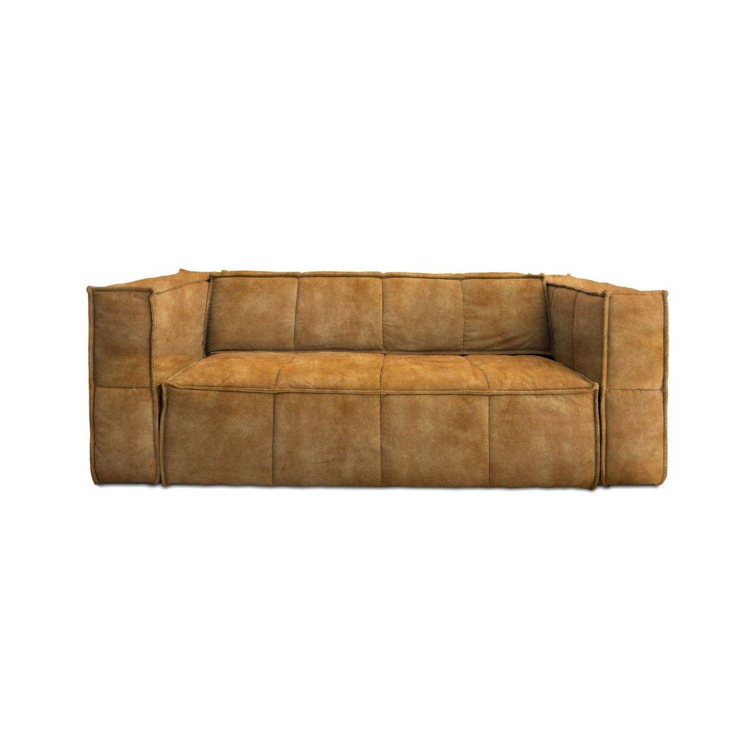 hk living cube couch 3 sitzer g nstig online kaufen buerado. Black Bedroom Furniture Sets. Home Design Ideas