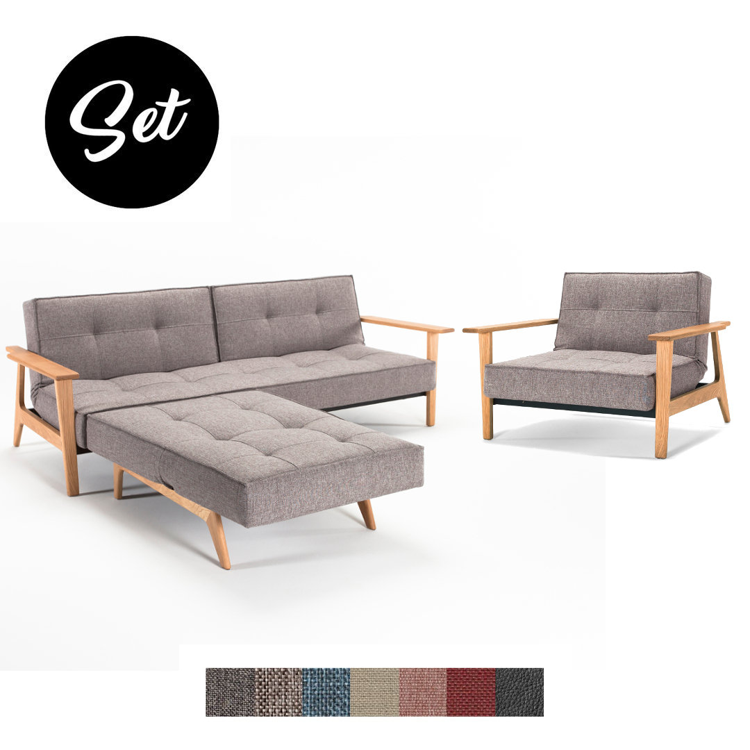 Splitback Frej Sofa und Sessel günstig im Set kaufen