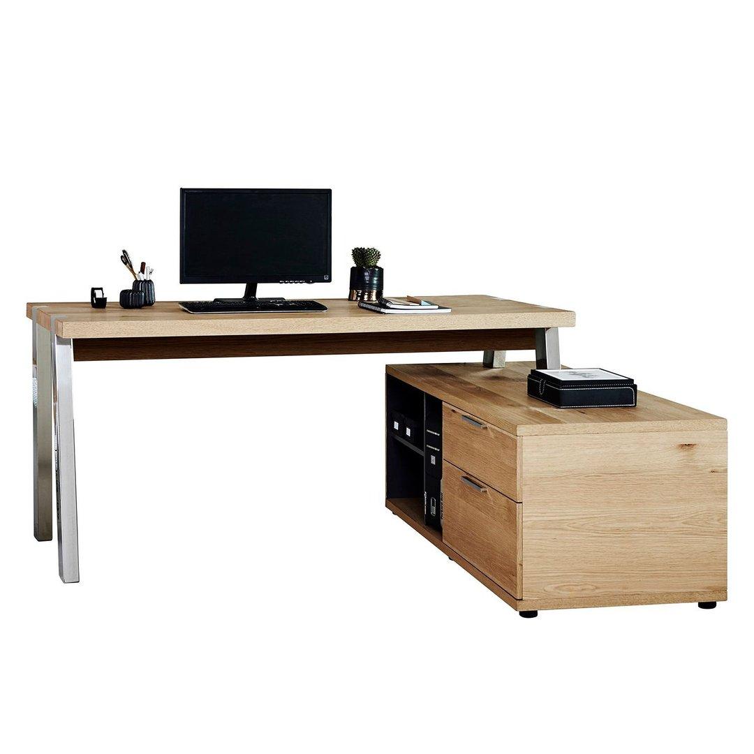 Jahnke Solid Desk 165 E Eckschreibtisch G 252 Nstig Kaufen