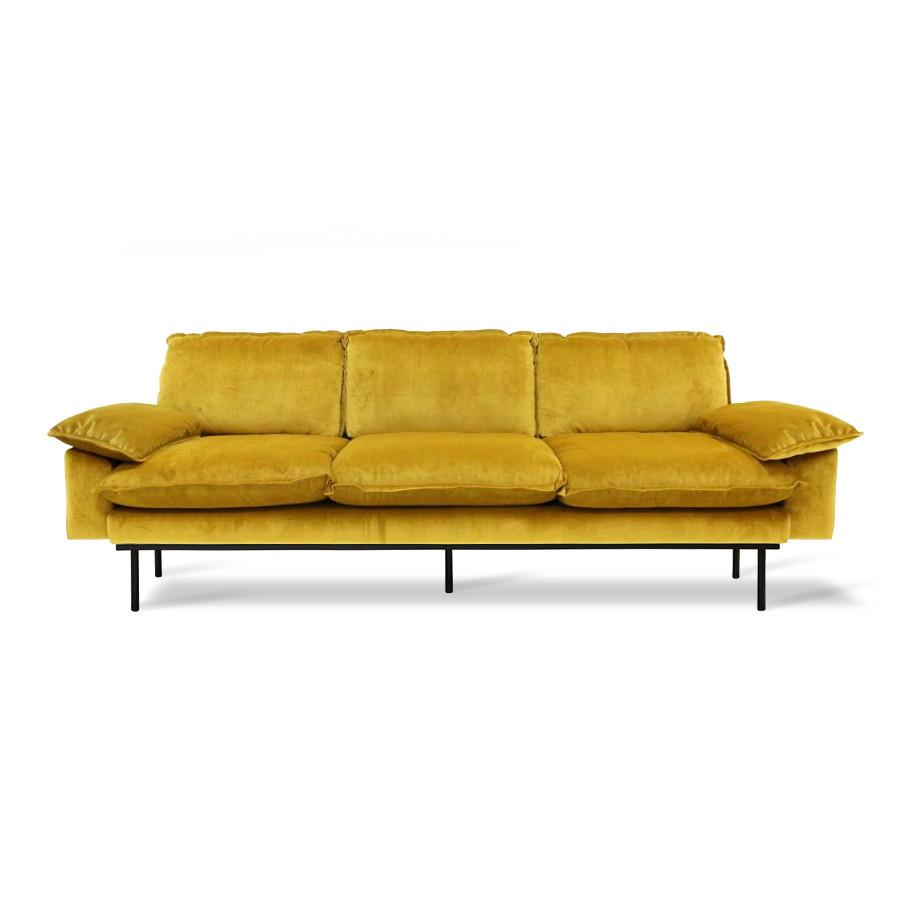 Hkliving Retro Sofa 4 Sitzer