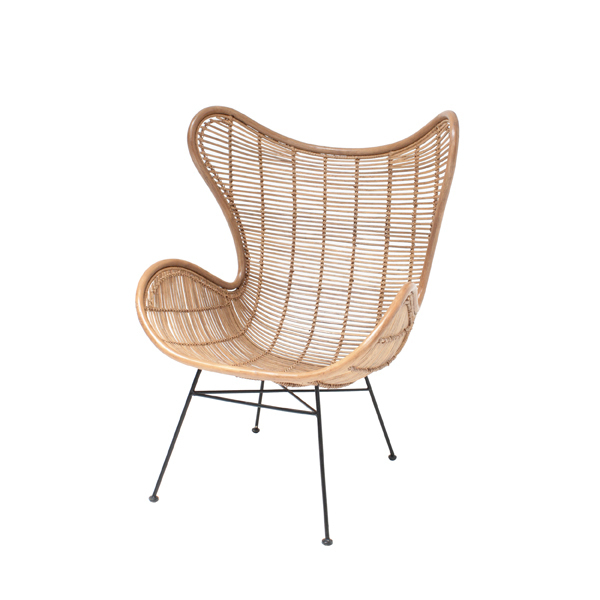 Hochwertig HK Living   Rattan Egg Chair Small