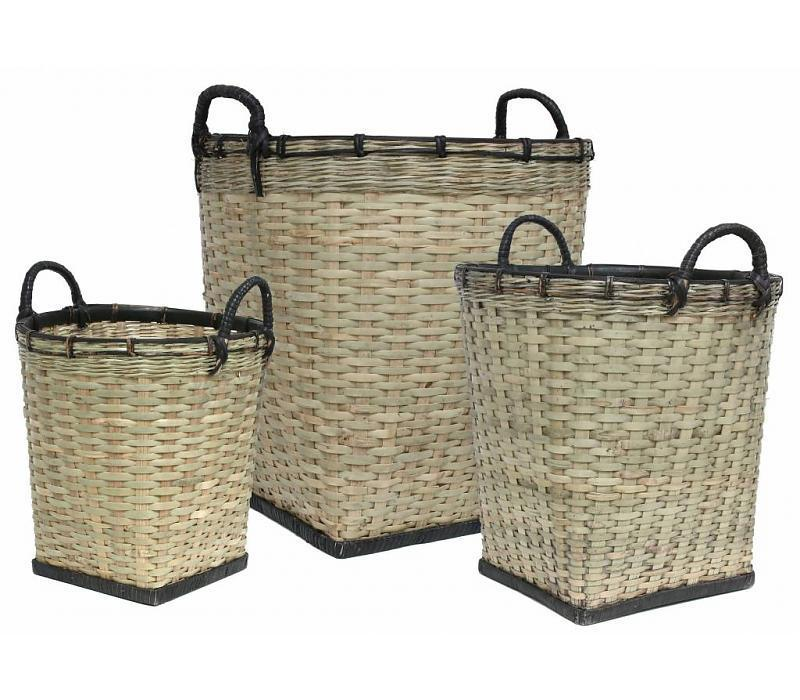 Hk Living Bambus Korb Set Gunstig Kaufen Buerado De
