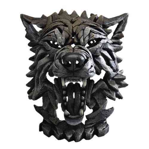 Edge Sculpture - Wolf Skulptur