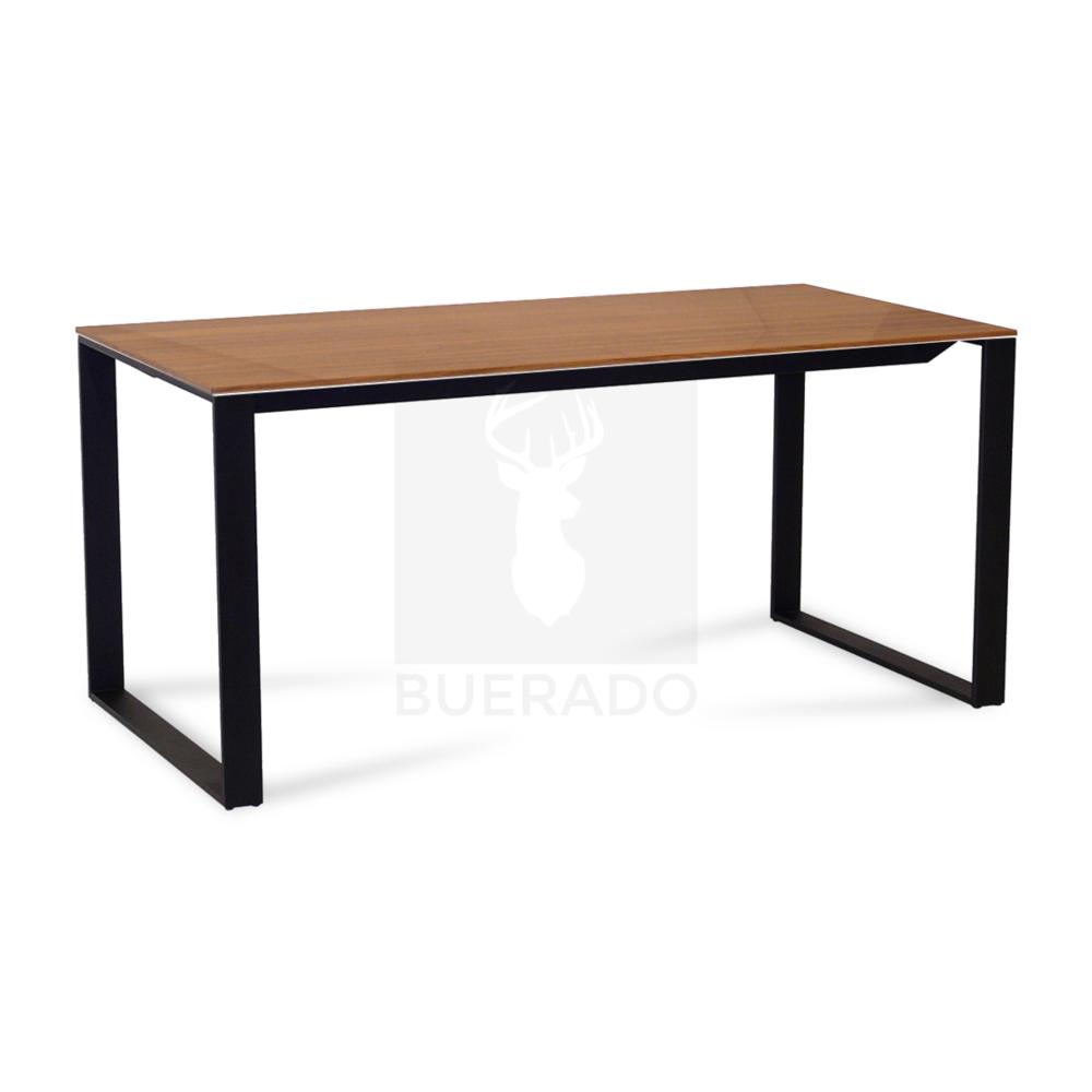 Maxim Schreibtisch Mit Echtholzfurnier Tischplatte Buerado