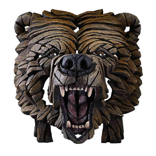 Edge Sculpture - Grizzly Skulptur