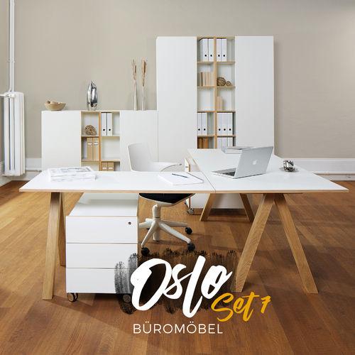 Oslo Büromöbel 7er Set von Reinhard