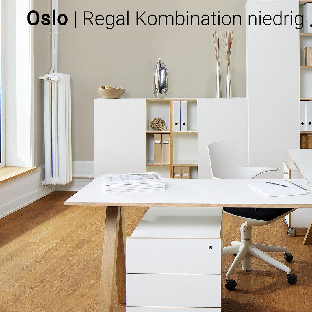 Oslo Büromöbel 7er Set von Reinhard günstig | BUERADO