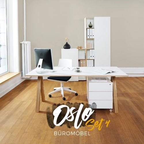 Reinhard Oslo Büromöbel 4er Set