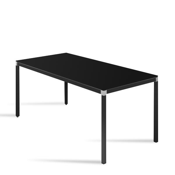 schreibtisch schwarz andiamo von reinhard. Black Bedroom Furniture Sets. Home Design Ideas