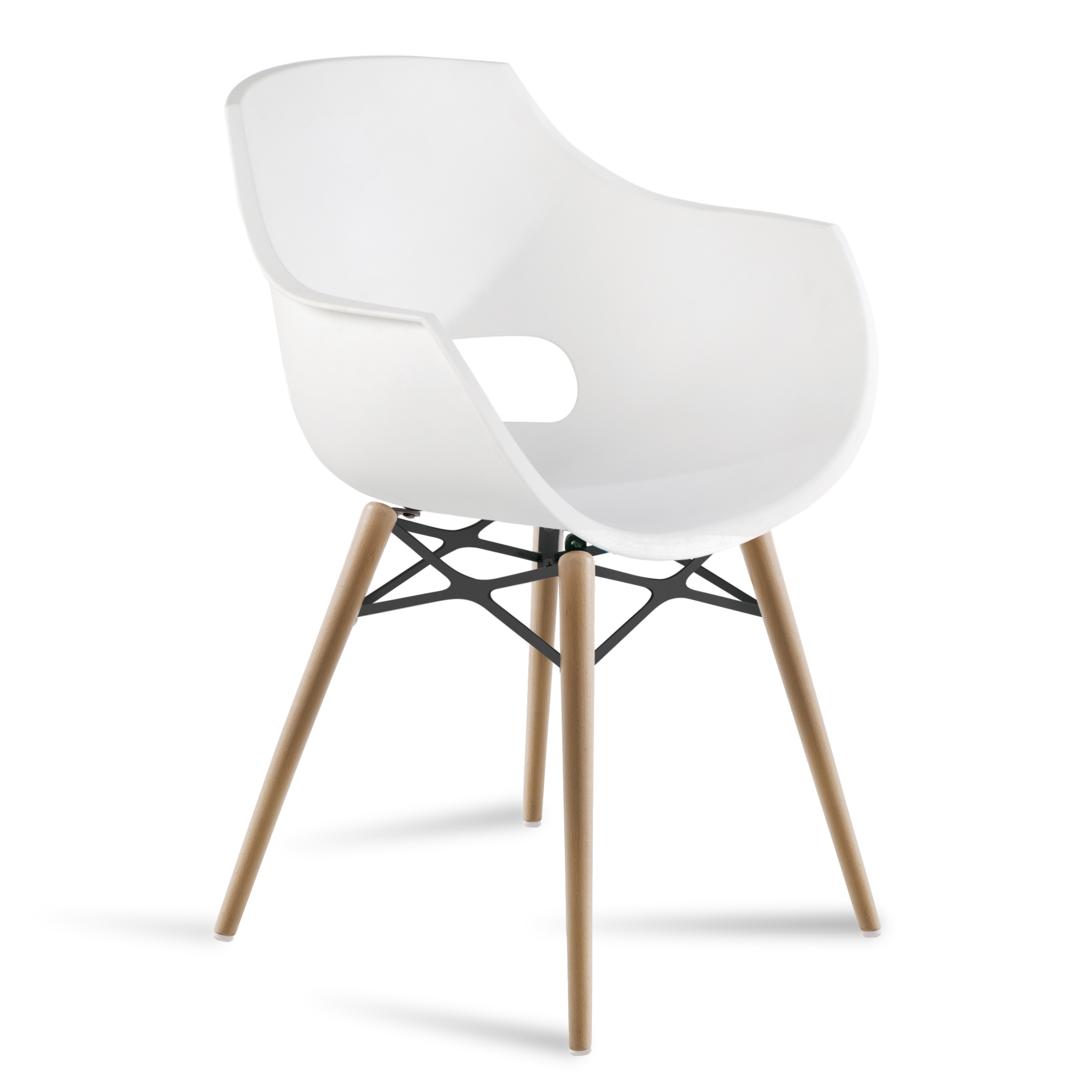Stuhl zeichnung  Stuhl Opal Wox (4er-Set) von Papatya | buerado.de