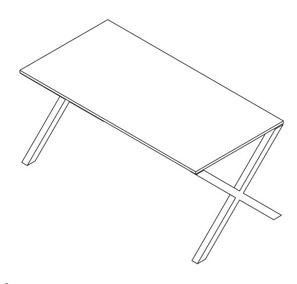 schreibtisch x beine bestseller shop f r m bel und einrichtungen. Black Bedroom Furniture Sets. Home Design Ideas