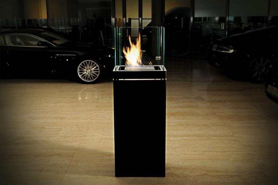 kamin high flame von radius design. Black Bedroom Furniture Sets. Home Design Ideas
