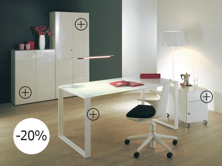 Maxim Büromöbel von Reinhard 4er Set | BUERADO