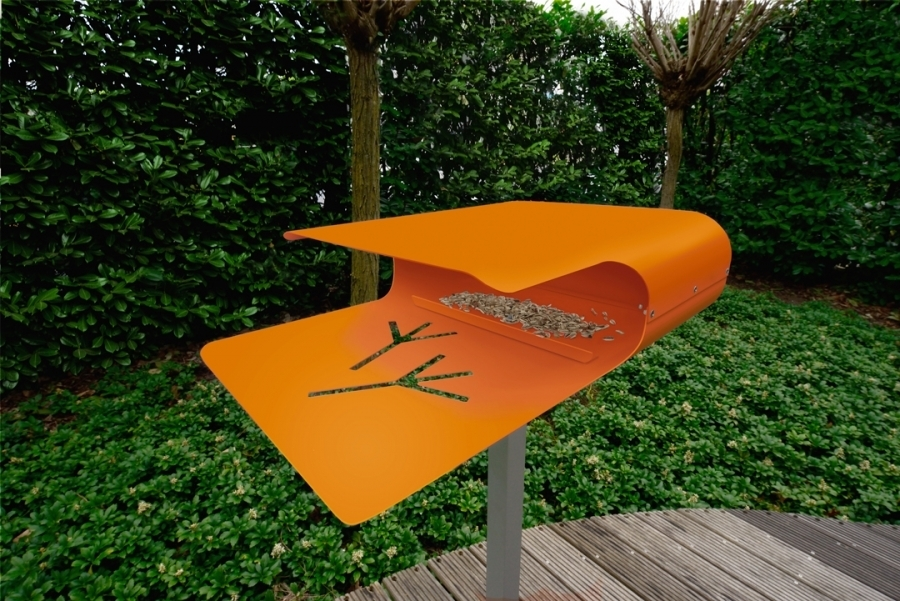 vogelhaus piep show 2 von radius design. Black Bedroom Furniture Sets. Home Design Ideas