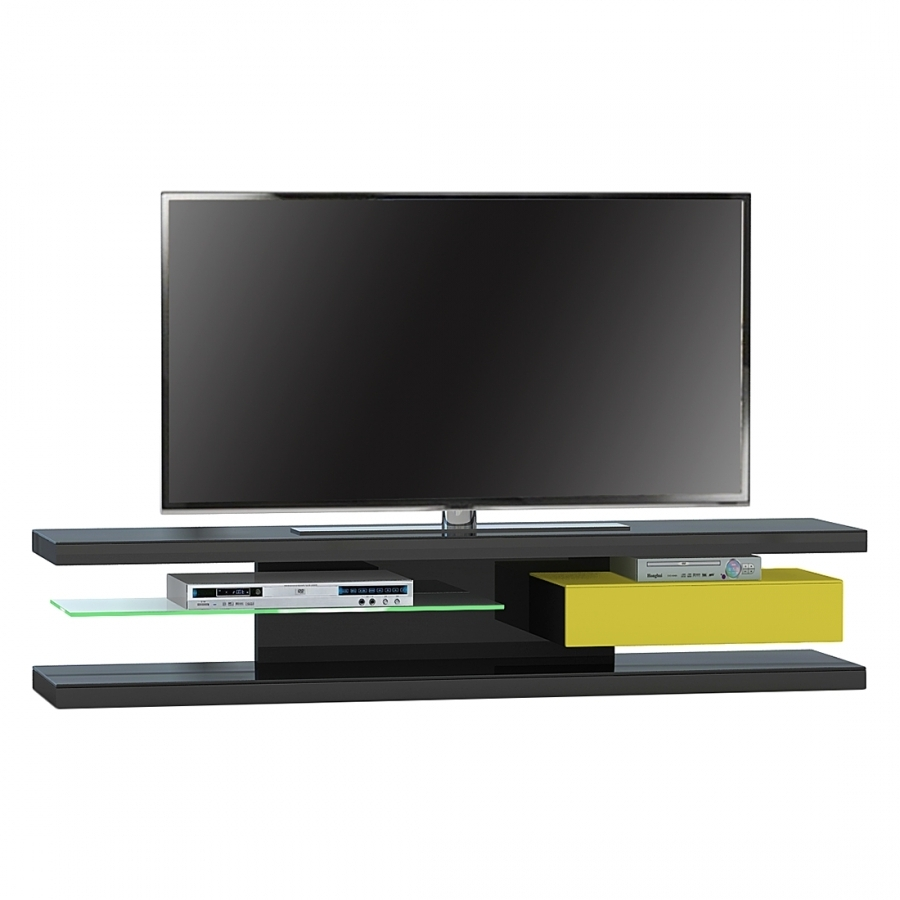 tv rack mit r ckwand. Black Bedroom Furniture Sets. Home Design Ideas