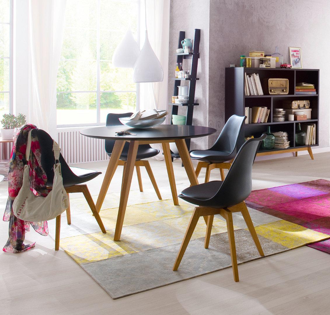 runder esstisch schwarz best runder esstisch mit stuhlen genial esstische und sta hle perfekt. Black Bedroom Furniture Sets. Home Design Ideas