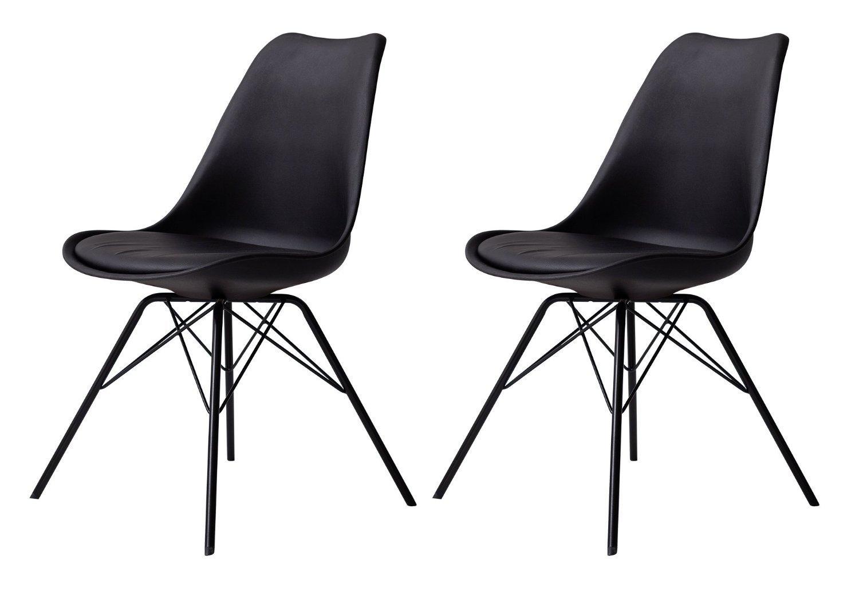 tenzo tequila porgy schwarz esszimmerstuhl buerado. Black Bedroom Furniture Sets. Home Design Ideas