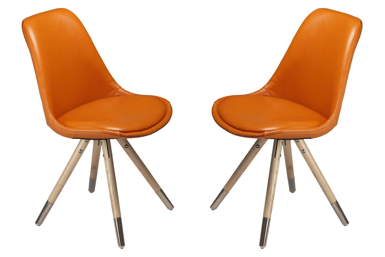 stuhl orso 4er set edelstahl von dan form. Black Bedroom Furniture Sets. Home Design Ideas