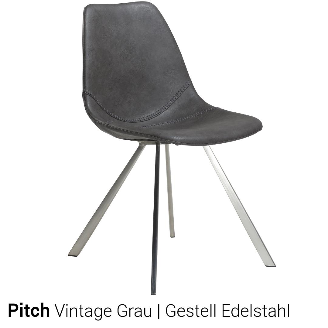 Stuhl gestell edelstahl for Esszimmerstuhle schwinger