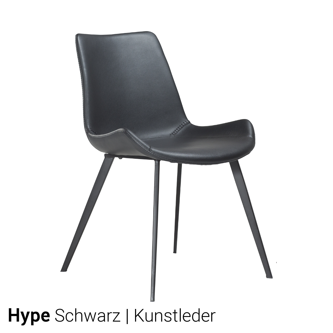 stuhl hype 4er set von dan form g nstig kaufen. Black Bedroom Furniture Sets. Home Design Ideas