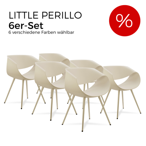 Züco - 6er-Set Little Perillo PT042