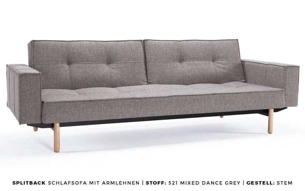 Sofa Splitback Mit Armlehnen Von Innovation Living Buerado