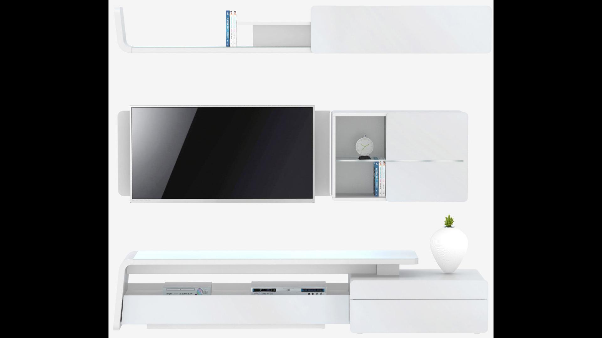 Wohnwand Studio Concept 400 (3-tlg.) von Jahnke   BUERADO