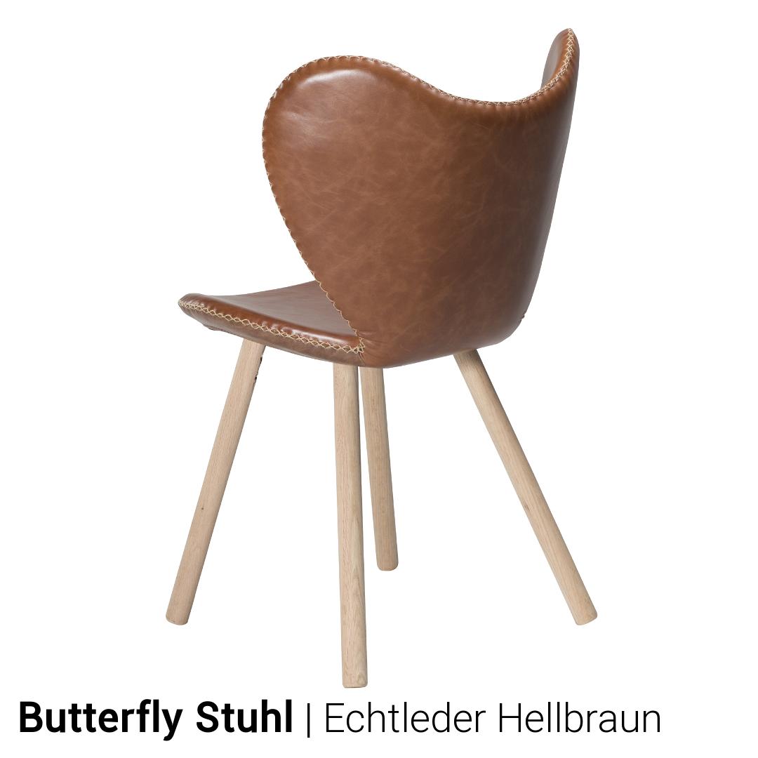 Stuhl Butterfly 2er Set Von Dan Form Gunstig Kaufen Buerado
