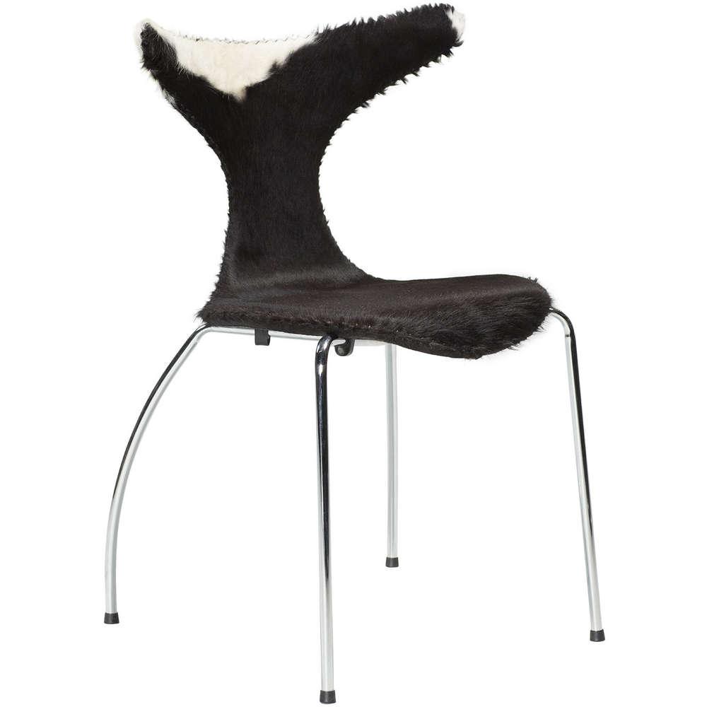 Stuhl Dolphin Kuhhaut (2er-Set) von Dan Form günstig bestellen   BUERADO
