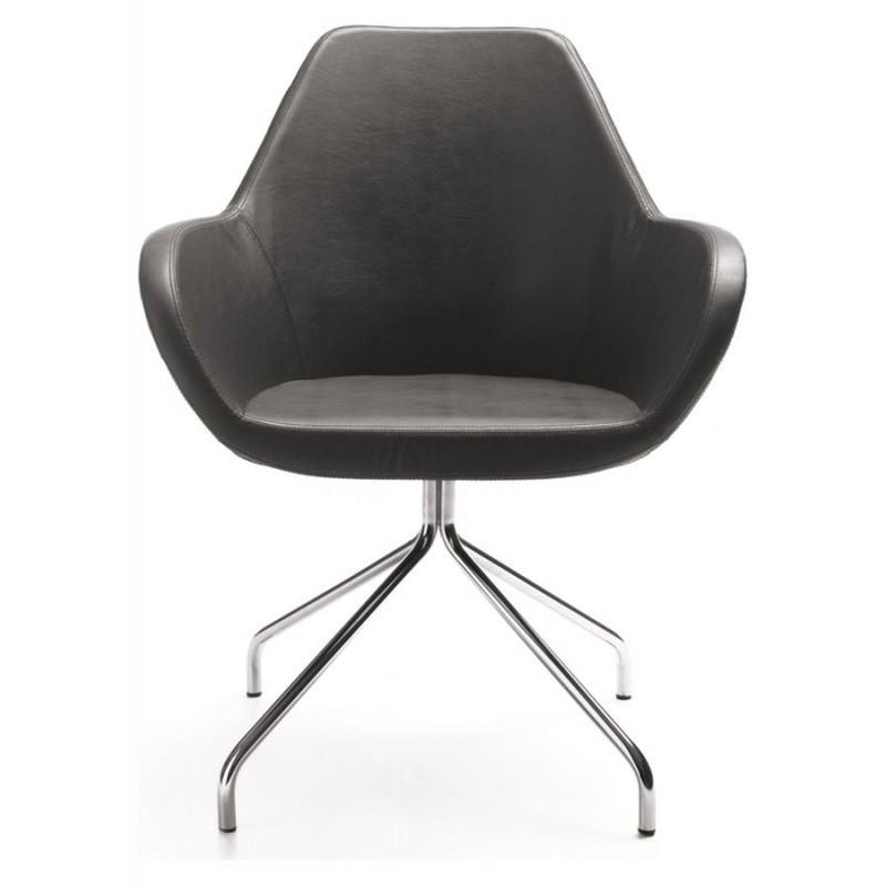 Stuhl fan 10hs spinnenfu drehbar von profim buerado for Design esszimmerstuhl drehbar