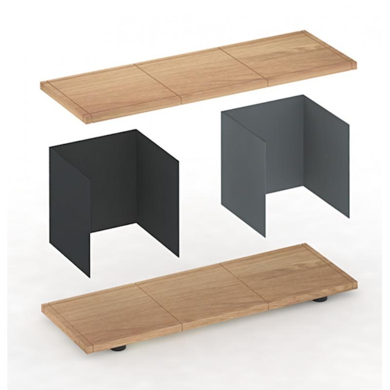 eiche regalbrett perfect xpot regal regalbrett abgerundet l cm h cm compagnie natur with eiche. Black Bedroom Furniture Sets. Home Design Ideas
