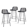 HKliving - Barhocker Rattan Bar Stool
