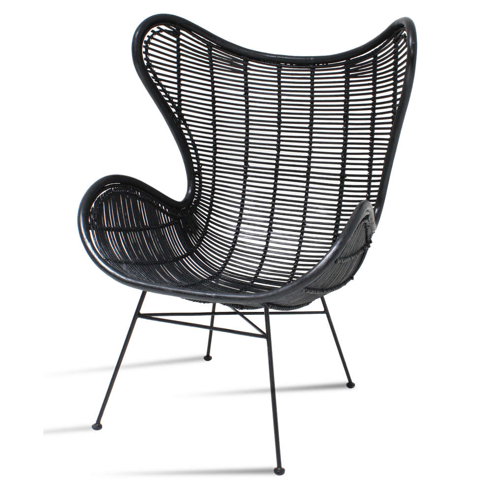 amazing tolles dekoration egg chair kaufen 3 #1: HK Living - Stuhl Rattan Egg