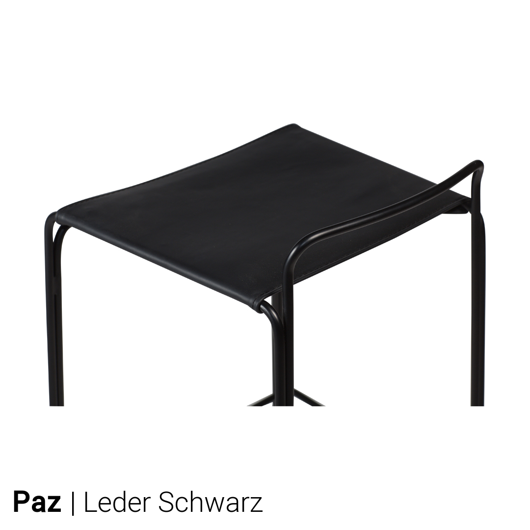 Dan form barhocker paz 2er set g nstig kaufen buerado for Barhocker leder schwarz