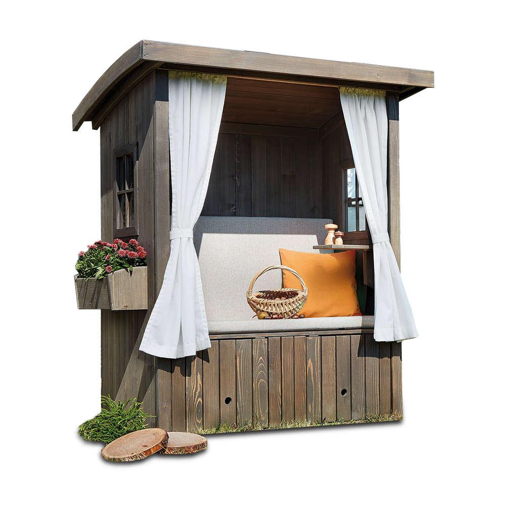 gunstige strandkorbe fur garten, hüttenglück von lounge paradise günstiger kaufen | buerado, Design ideen
