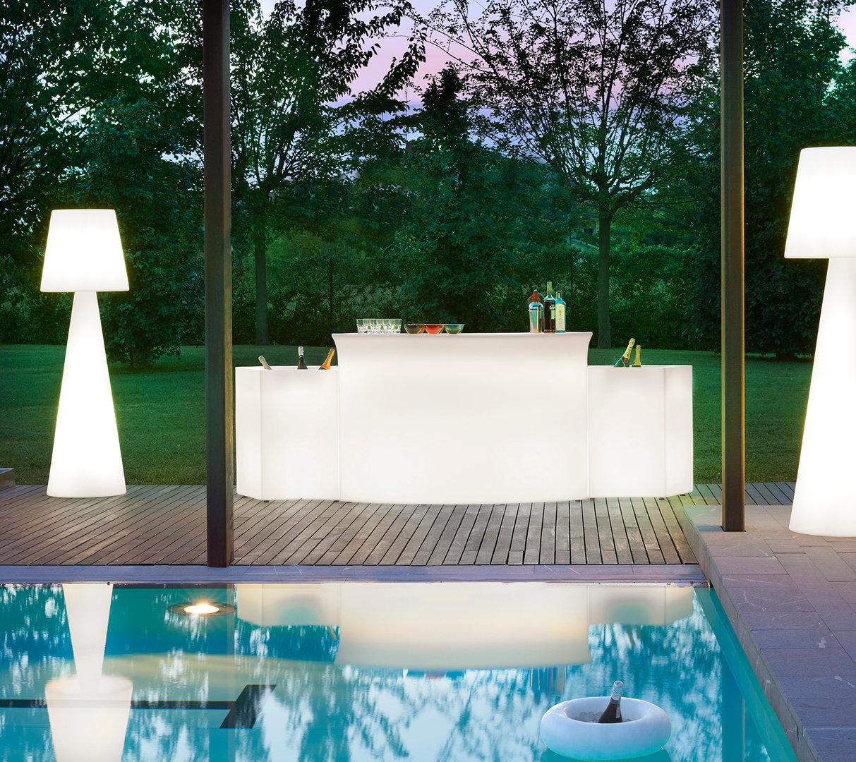 leuchtender getr nkek hler ice bar von slide. Black Bedroom Furniture Sets. Home Design Ideas
