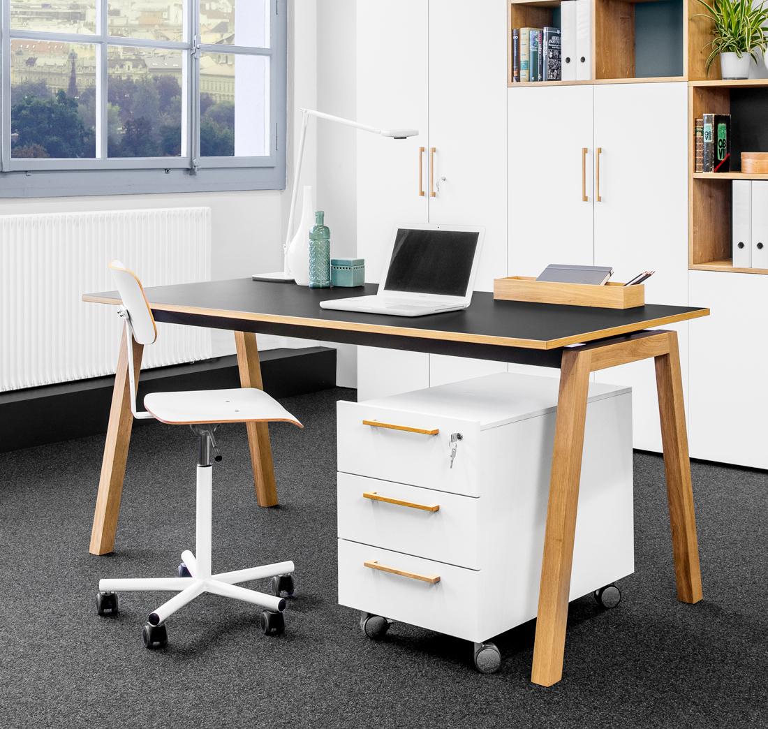 Beeindruckend Schreibtisch Mit Rollcontainer Ideen Von Reinhard - Artiq