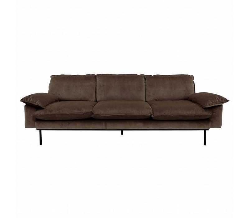 HK Living Retro Sofa 4 Sitzer günstig kaufen | buerado.de