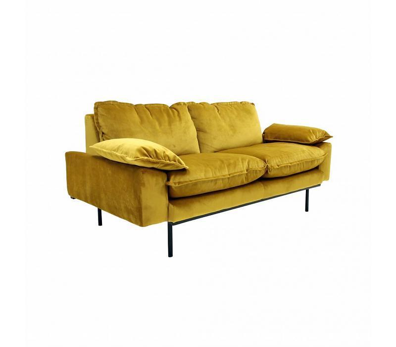 Hk Living Retro Sofa 2 Sitzer Gunstig Kaufen Buerado De