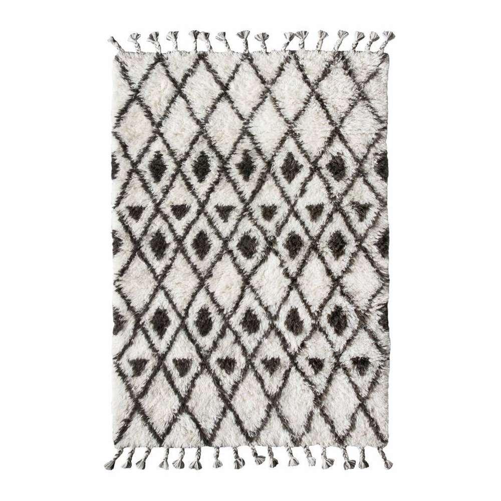 Hk Living Berber Teppich Wolle Handgeknotet Gunstig Kaufen Buerado De